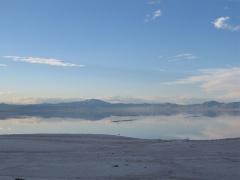 Salty lake Urmia