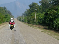 First miles in Nepal