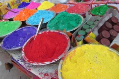 Holi or holy colours?