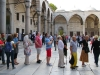 You are never alone at the Blue Mosque