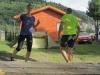 Running standing still
