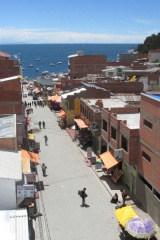 Titicaca hotel room view