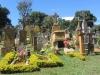 Barichara grave monuments