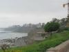 Foggy Lima coast