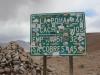 The highest Ruta 40 pass: 4895m