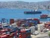 Valparaiso's tiny harbour